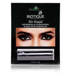 Подводка для глаз Биотик Био Миндальное Масло (Biotique Bio Kaajal Nourishing&Conditioning Kaajal With Almond Oil), 3г