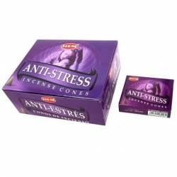Ароматические конусы Антистресс ХЕМ (Incense Anti-Stress HEM), 10шт