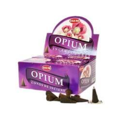 Ароматические конусы Мак ХЕМ (Incense Opium HEM), 10шт