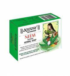 Мыло Ним Древние Формулы (Ancient Formulaè Neem Enriched Herbal Soap), 125г