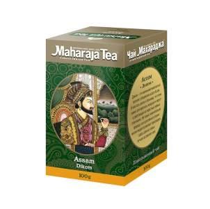 Чай черный байховый Ассам Диком Махараджа (Maharadja Tea Assam Dikom) , 100г