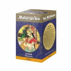 Чай черный байховый Ассам Хармати Махараджа (Maharadja Tea Assam Harmutty), 200г