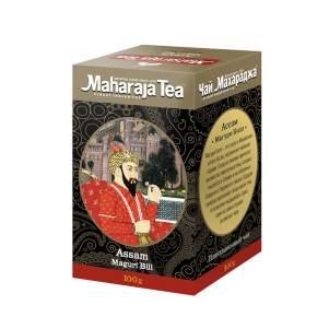 Чай черный байховый Ассам Магури Билл Махараджа (Maharadja Tea Assam Maguri Bill), 100г