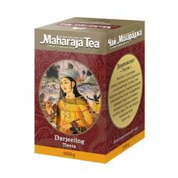 Чай черный байховый Ассам Дарджилинг Тиста Махараджа (Maharadja Tea Assam Darjeeling Tiesta) , 200г