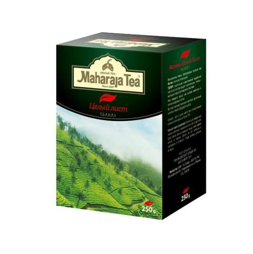 Чай черный байховый Ассам Целый лист Махараджа (Maharaja Tea Assam Whole Leaf), 250г