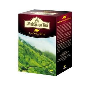 Чай черный байховый Ассам Средний лист Махараджа (Maharaja Tea Assam Medium Leaf), 100г