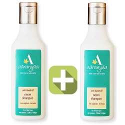 Акция 2 по цене 1! Шампунь от перхоти Ним Ааранья (Aaranyaa Anti Dandruff Neem Shampoo), 250мл