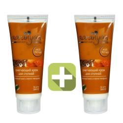 Акция 2 по цене 1! Смягчающий крем для ступней на основе пчелиного воска и масла гвоздики Ааранья (Aaranyaa Soft Heel Cream Beeswax & clove oil formula), 100г
