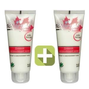 Акция 2 по цене 1! Дневной увлажняющий крем для лица Ааранья (Aaranyaa Daily Moisturizing Cream), 100г