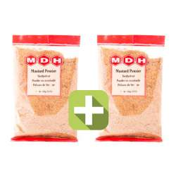 Акция 2 по цене 1! Горчица молотая Махашиан Ди Хатти (MDH Mustard Powder), 2x100г