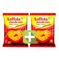 Акция 2 по цене 1! Овсяные хлопья со специями острые Саффола (Saffola Peppy Tomato), 40г