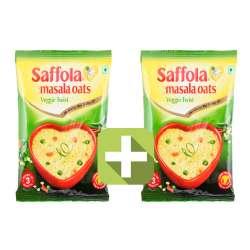Акция 2 по цене 1! Овсяные хлопья со специями вегетарианские Саффола (Saffola Veggie Twist), 40г