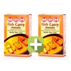 Акция 2 по цене 1! Смесь специй Фиш Карри Масала Махашиан Ди Хатти (MDH Fish Curry Masala), 100г