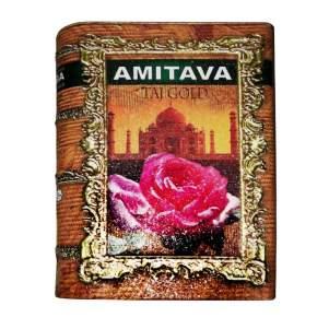 Чай премиум чёрный крупнолистовой байховый Амитава TAJ GOLD (Amitava Premium Black Tea TAJ GOLD), 200г