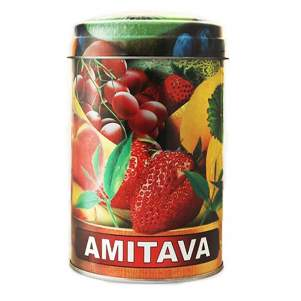 Чай премиум зелёный крупнолистовой Ассам Амитава с ягодами Вишни (Assam Amitava Premium Green Tea Cherry), 200г