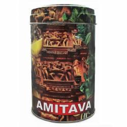 Чай премиум смесь зелёный и чёрный крупнолистовой Ассам Амитава с Бергамотом (Assam Amitava Premium Green and Black Tea Bergamot), 200г