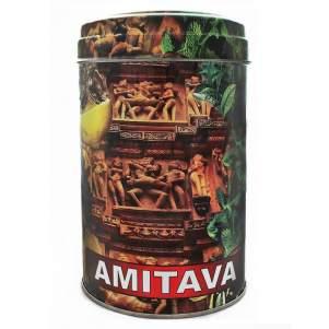 Чай премиум смесь зелёный и чёрный крупнолистовой Ассам Амитава Масала (Assam Amitava Premium Green and Black Masala Tea), 200г