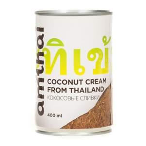 Кокосовые сливки AMTHAI (Coconut Cream AMTHAI), 400мл