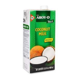 Кокосовое молоко Арой-Д (Coconut milk Aroy-D Tetra pak) 60%, 1000мл
