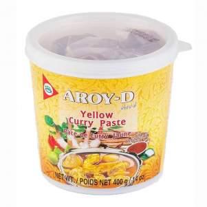 Паста Карри желтая AROY-D (Curry paste yellow AROY-D), 400г