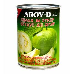 Гуава в сиропе AROY-D (Guava in syrup AROY-D), 565г