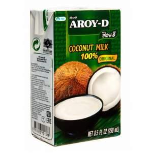 Кокосовое молоко AROY-D (Coconut milk AROY-D) 60%, 250мл