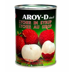 Личи в сиропе AROY-D (Lychee in syrup AROY-D), 565г