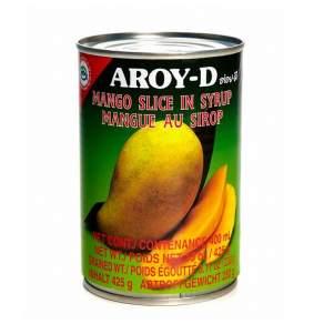 Манго (дольки) в сиропе AROY-D (AROY-D Mango slice in syrup), 425г