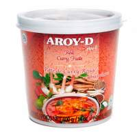 Паста Карри красная AROY-D (Curry paste red AROY-D), 400г
