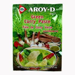 Паста Карри зелёная AROY-D (Curry paste green AROY-D), 50г