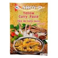 Паста Карри желтая AROY-D (Curry paste yellow AROY-D), 50г