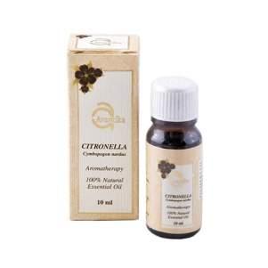 Натуральное эфирное масло Цитронеллы Авантика (Avantika Natural Essential Citronella Oil), 10мл