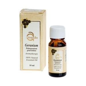 Натуральное эфирное масло ГераниАвантика (Avantika Natural Essential  Geranium), 10мл