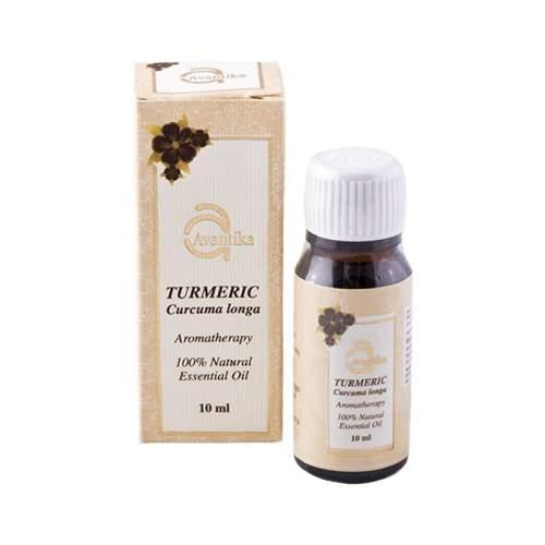Натуральное эфирное масло Куркумы Авантика (Avantika Natural Essential Turmeric Oil), 10мл
