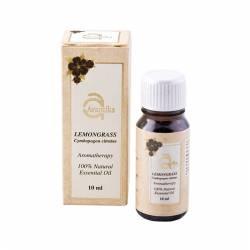Натуральное эфирное масло Лимонной травы Авантика (Avantika Natural Essential Lemongrass Oil), 10мл