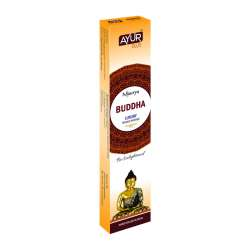 Ароматические палочки Будда Масала Аюр Плюс, 20г (Ayur Plus Buddha Luxury Masala Incense), 12шт