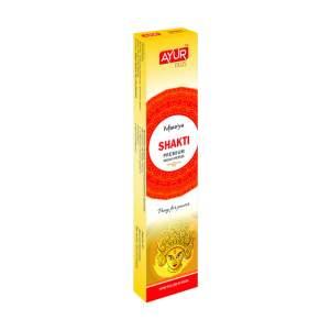 Ароматические палочки Шакти Премиум Масала Аюр Плюс, 18г (Ayur Plus Shakti Premium Masala Incense), 12шт