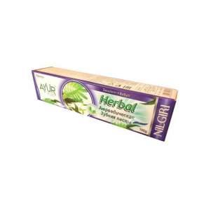 Аюрведическая зубная паста Эвкалипт и Бабул Аюр Плюс (Toothpaste Ayur Plus Eucalyptus Babool), 100г