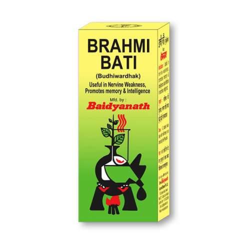 Брахми Вати тоник для мозга Байданат (Brahmi Bati Baidyanath), 30шт