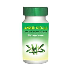 Лакшади Гуггул - укрепление костей Байданат (Lakshadi Guggul Baidyanath), 80шт