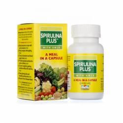 Источник витаминов Спирулина Плюс с амлой Байданат (Spirulina Plus With Amla Baidyanath), 60шт