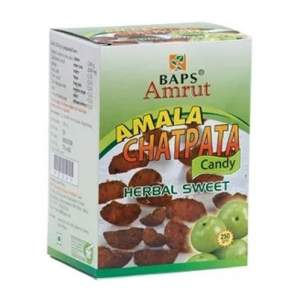 Цукаты Амлы со специями Бапс Амрут ( Amala Сhatpata Candy Herbal Sweet Baps Amrut) 100 г