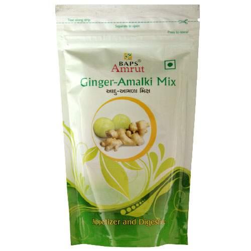 Цукаты Имбирь - Амла микс Бапс Амрут ( Ginger Amalki Mix Baps Amrut), 100г