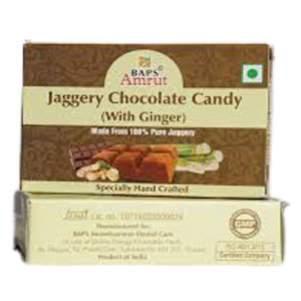 Джаггери конфеты с шоколадом и специями Бапс Амрут (Jaggery Chocolate with Spicy Masala Candy flakes Baps Amrut), 110г