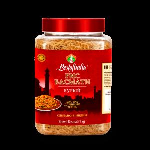 Рис Басмати  Бурый Бестофиндия (Bestofindia Brown Basmati Rice), 1кг
