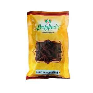 Анис звездчатый/бадьян Бестофиндия (Bestofindia Star Anise Seeds), 50г