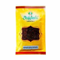 Черный перец горошек Бестофиндия (Bestofindia Black Pepper), 50г