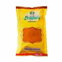 Перец чили молотый Бестофиндия (Bestofindia Chilli Powder), 100г