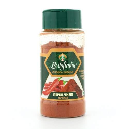 Перец чили молотый Бестофиндия (Bestofindia Chilli Powder), 50г