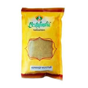 Кориандр молотый Бестофиндия (Bestofindia Coriander Powder), 100г
